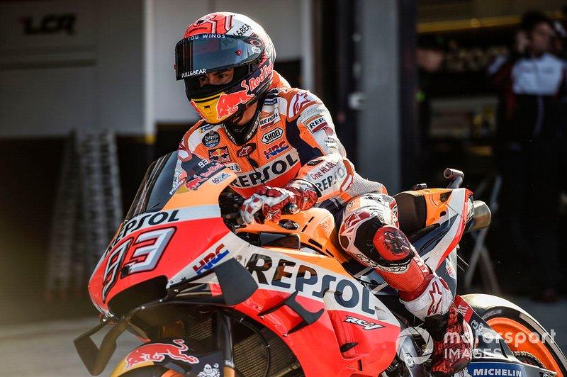 Marc Marquez: 2 controles, en Barcelona y Sepang (también dos controles en 2018)