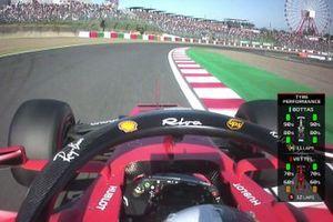 Screenshot Sebastian Vettel, Ferrari SF90