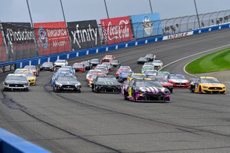 Jimmie Johnson, Hendrick Motorsports, Chevrolet Camaro Ally, Alex Bowman, Hendrick Motorsports, Chevrolet Camaro Cincinnati