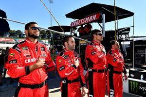 Erik Jones, Joe Gibbs Racing, Toyota Camry Craftsman crew