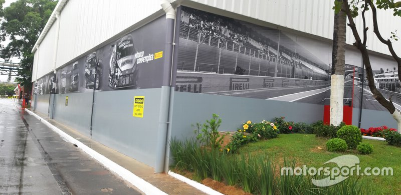 Módulo Competições da fábrica da Pirelli em Campinas