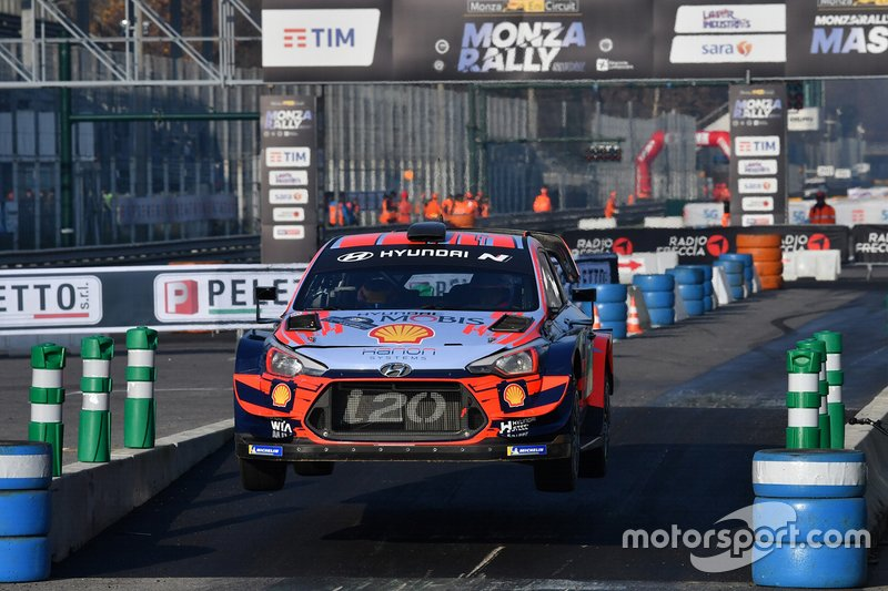 Dani Sordo, Carlos Del Barrio, Hyundai i20, Monza Rally Show