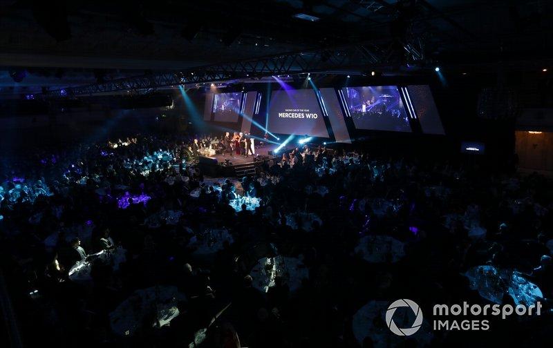 Presentazione del Racing Car of the Year Award per la Mercedes AMG F1 W10