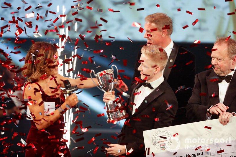 Johnathan Hoggard wins the Aston Martin Autosport BRDC Young Driver Of The Year Award
