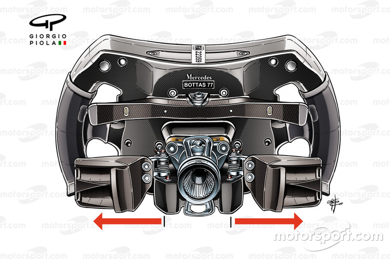 Mercedes AMG F1 W10, steering wheel Valtteri Bottas