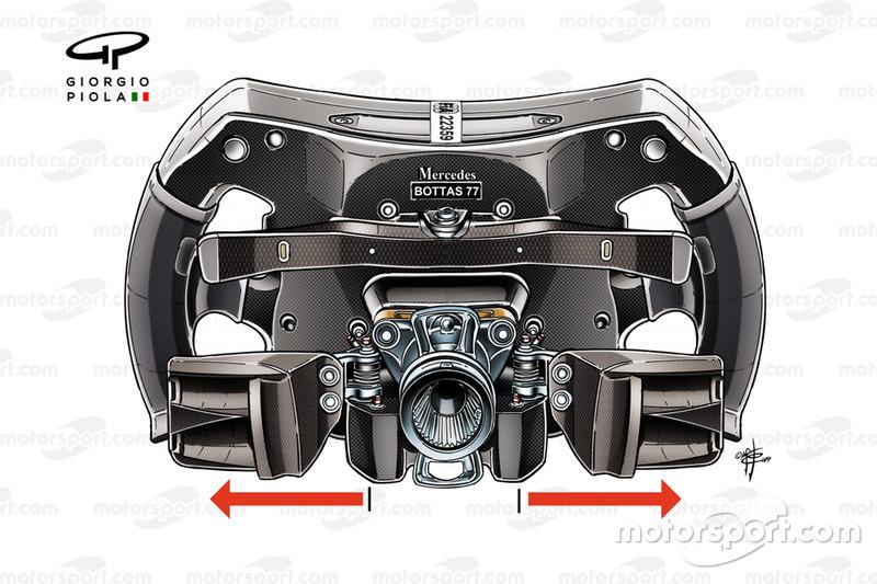 Mercedes AMG F1 W10, il volante di Valtteri Bottas
