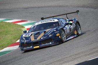 #33 Ferrari 488 Challenge, Rossocorsa: Emanuele Maria Tabacchi