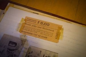 Ticket: GP Niederlande 1975 in Zandvoort