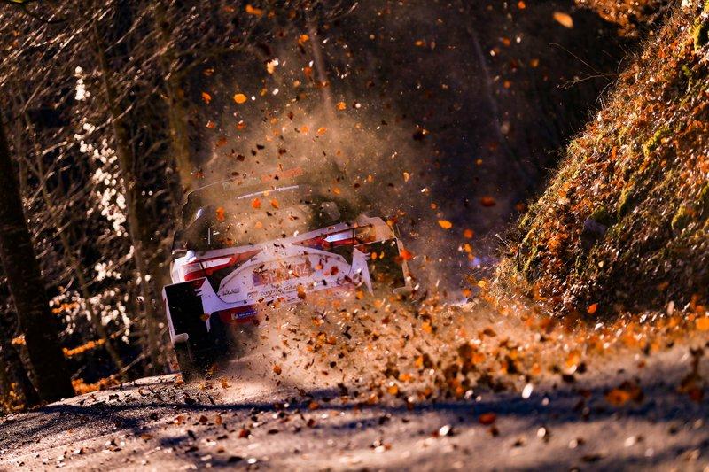 Sebastien Ogier, Julien Ingrassia, Toyota Gazoo Racing WRT Toyota Yaris WRC