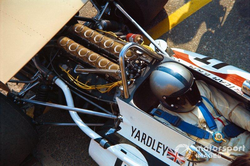 Zandvoort 1971: Pedro Rodriguez met achter zich een V12