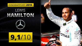 Eindrapport 2019 Lewis Hamilton, Mercedes