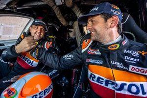 Isidre Esteve and Txema Villalobos, Repsol Rally Team