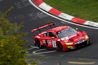 #9 Phoenix Racing Audi R8 LMS: Michele Beretta, Steve Jans, Kim-Luis Schramm