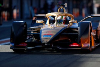 Antonio Felix da Costa, DS Techeetah, DS E-Tense FE20 in pit lane