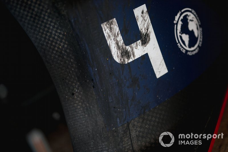 Robin Frijns, Envision Virgin Racing, Audi e-tron FE06 detail