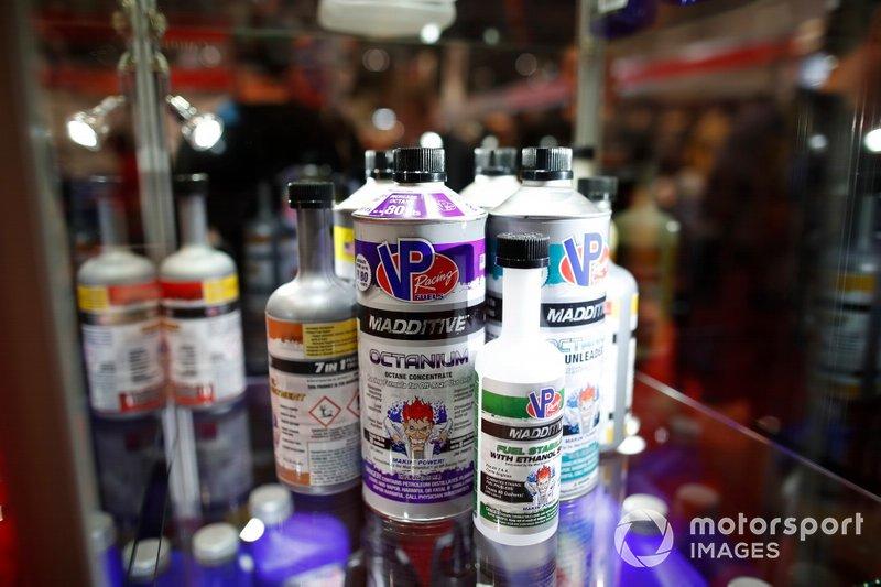 VP Racing product on display