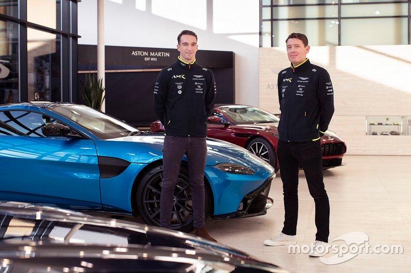 Harry Tincknell and Richard Westbrook, Aston Martin Racing