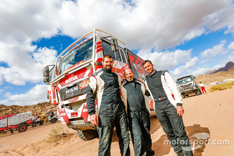 #547 Team SSP MAN: Sylvain Besnard, Antoine Vitse, Sylvain Laliche
