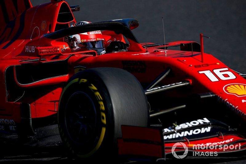 Charles Leclerc, Ferrari: 5 puan