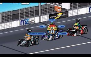 El ePrix de Ciudad de México, Sims vs Vandoorne