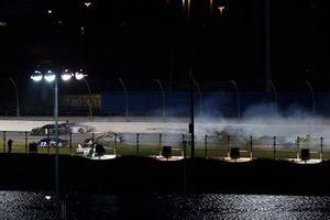 Büyük kaza, Ross Chastain, Spire Motorsports, Chevrolet Camaro, Ryan Preece, JTG Daugherty Racing, Chevrolet Camaro, Tyler Reddick, Richard Childress Racing, Chevrolet
