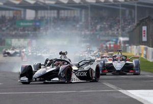 Nico Müller, GEOX Dragon, Penske EV-4 Nyck De Vries, Mercedes Benz EQ, EQ Silver Arrow 01 andRobin Frijns, Virgin Racing, Audi e-tron FE06