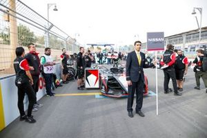 Nissan e.Dams on the grid with Oliver Rowland, Nissan e.Dams, Nissan IMO2