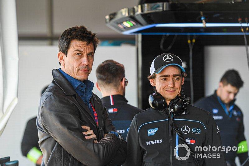 Esteban Gutiérrez, pilote de réserve Mercedes