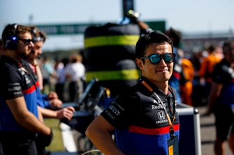 Naoki Yamamoto, Toro Rosso on the grid