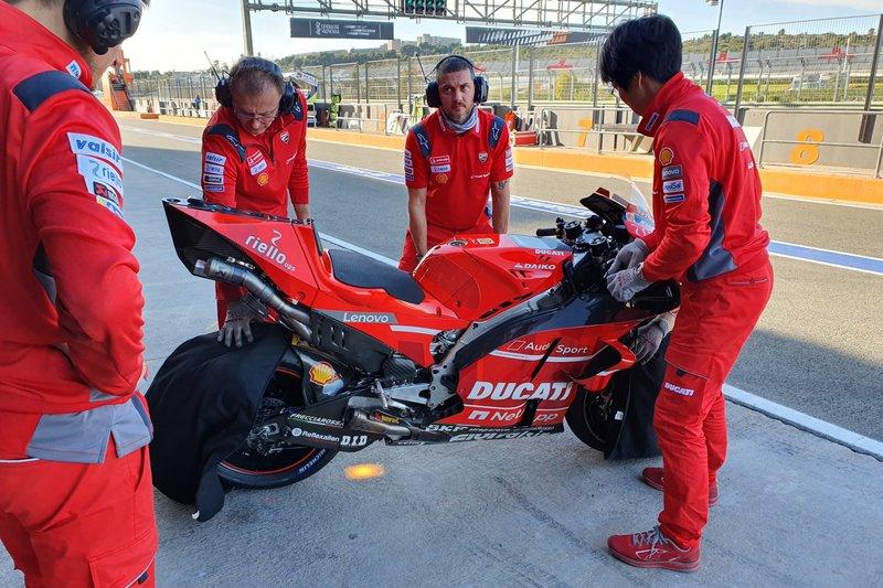 Ducati Team motor