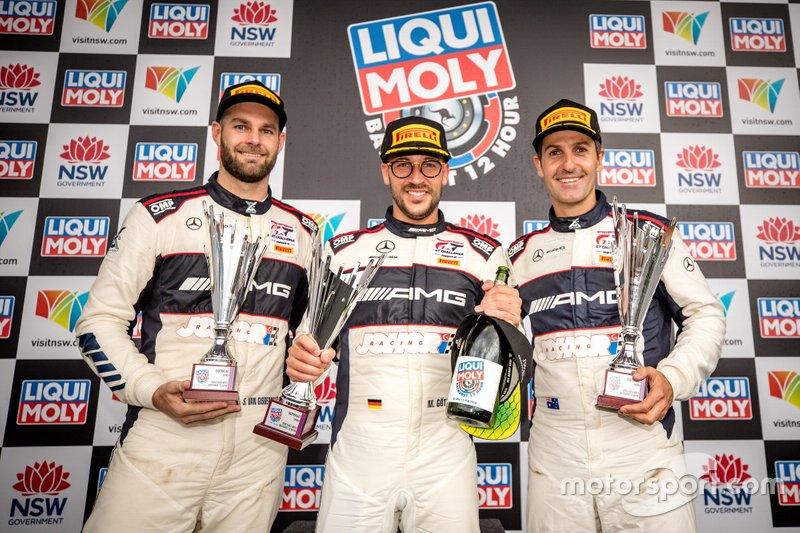Podio: #888 Mercedes-AMG Team Triple Eight Race Engineering Mercedes AMG GT3: Shane Van Gisbergen, Jamie Whincup, Maximilian Götz