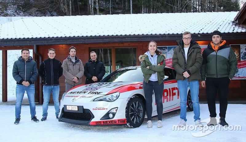 Présentation pilotes Swiss Race Academy 2020
