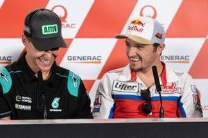Fabio Quartararo, Petronas Yamaha SRT, Jack Miller, Pramac Racing