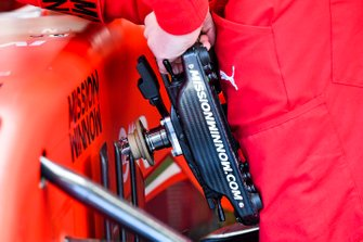 Steering wheel of Charles Leclerc, Ferrari