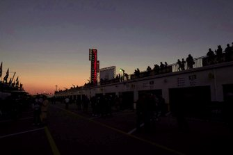 Sunset atmosphere