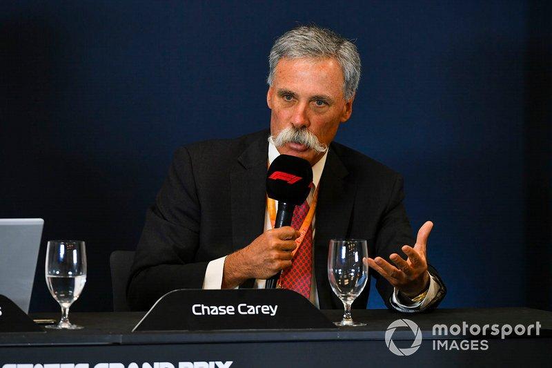 Chase Carey, Presidente della Formula 1