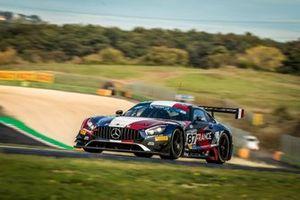 #87 FRA AKKA-ASP Mercedes - AMG GT3: Jean-Luc Beaubelique, Jim Pla