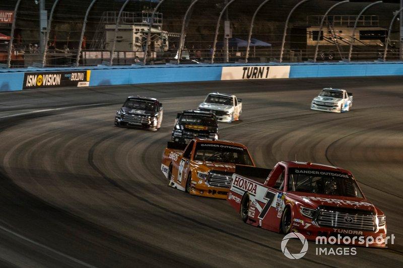 Tanner Gray, DGR-Crosley, Toyota Tundra Honda Generators, Derek Kraus, Bill McAnally Racing, Toyota Tundra ENEOS/NAPA FILTERS