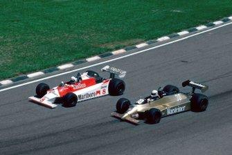Jochen Mass, Arrows, Alain Prost, Mclaren, al GP del Brasile del 1980