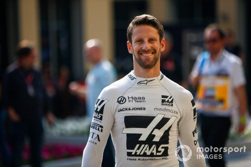 Romain Grosjean, Haas-Ferrari