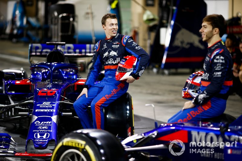 Daniil Kvyat, Toro Rosso, Pierre Gasly, Toro Rosso