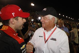 Will Power, Team Penske Chevrolet con el dueño Roger Penske