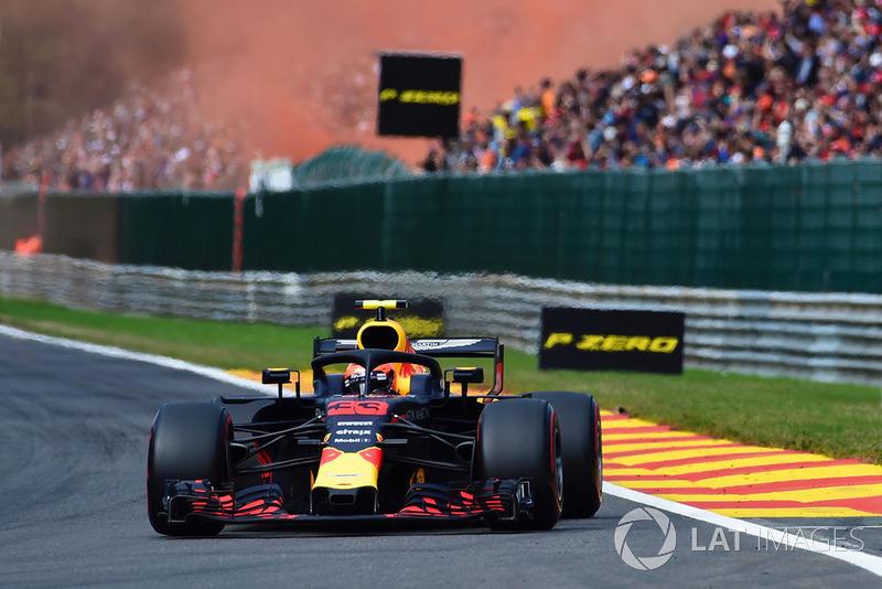 Гран При Бельгии-2018, третье место