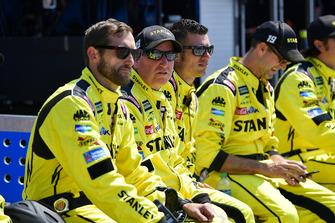 Daniel Suarez, Joe Gibbs Racing, Toyota Camry STANLEY crew