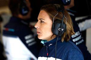 Claire Williams, directrice, Williams Martini Racing