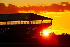 Silverstone'da gün batımı