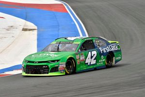 Kyle Larson, Chip Ganassi Racing, Chevrolet Camaro Clover/First Data