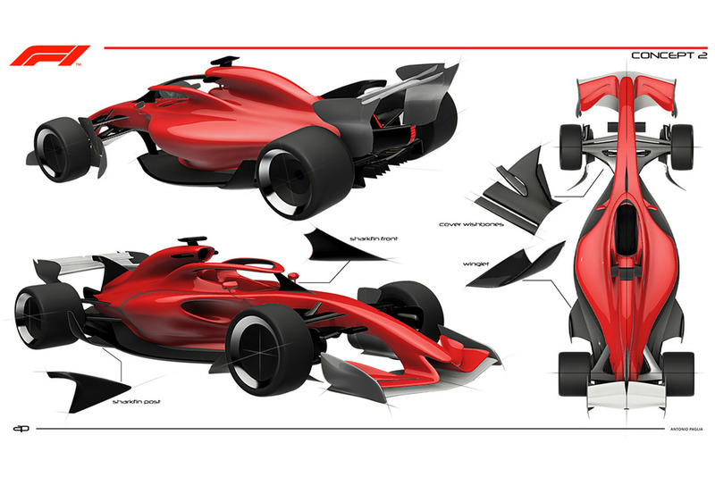 Illustration du concept F1 2021