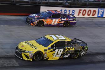 Daniel Suarez, Joe Gibbs Racing, Toyota Camry STANLEY and Denny Hamlin, Joe Gibbs Racing, Toyota Camry FedEx Freight