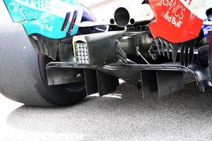 Scuderia Toro Rosso STR13 rear diffuser